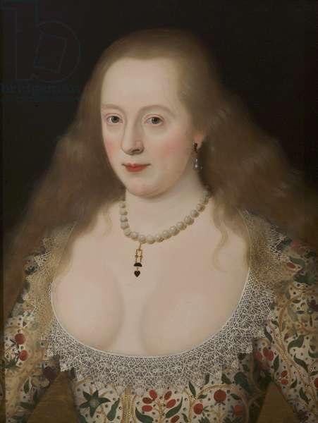 Frances Howard, Duchess of Richmond and Lennox (oil on panel)