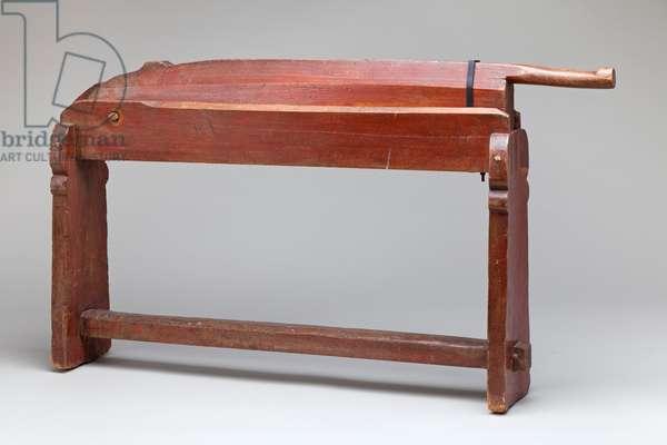 Flax Breaker, 1850-1900 (beechwood)