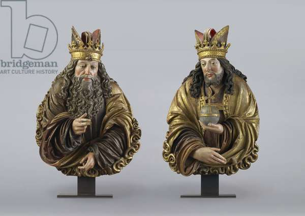 God the Father and God the Son, 1510-25 (limewood)