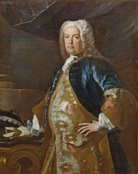 Portrait of a Foreign Diplomat, c.1732 (oil on canvas)
