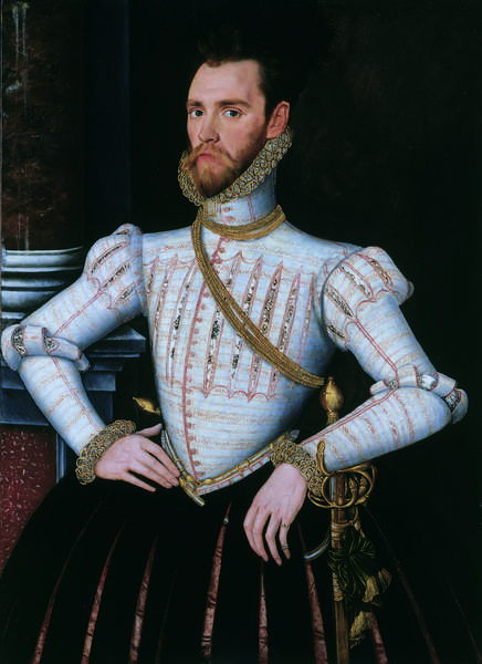 Sir Thomas Knyvet, c.1565 (oil on panel)