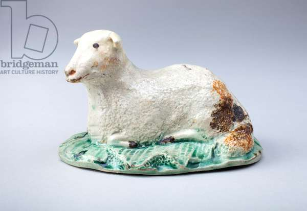Reclining Sheep, 1850-1900