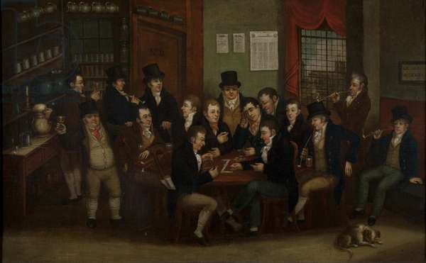 The Charing Cross Arms, 1819 (oil on canvas)