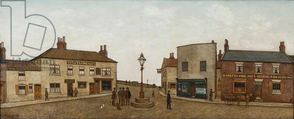 Yorkshire Square, 1892 (oil on canvas)