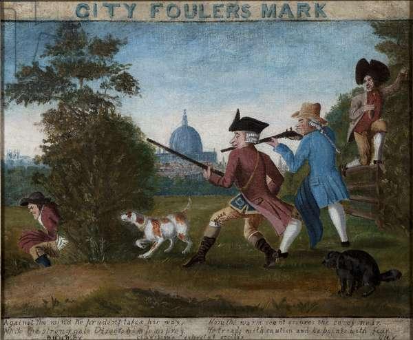 City Fouler's Mark, c.1840 (oil on canvas)