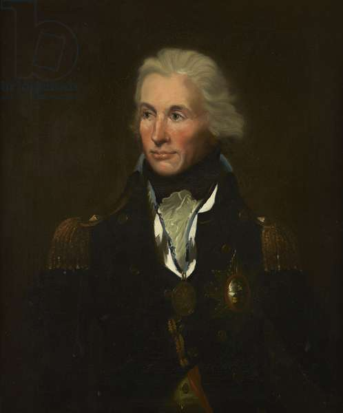 Horatio, Admiral Nelson, KB, 1797 (oil on canvas)