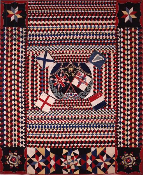 Military Patchwork, 1854-76 (patchwork)
