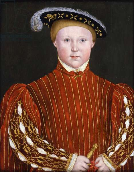 Edward, Prince of Wales, later King Edward VI, c.1542 (oil on panel)