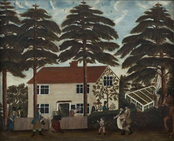 Country Fete, c.1790 (oil on panel)