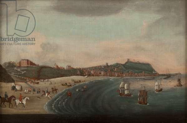 Scarborough, c.1850 (oil on canvas)