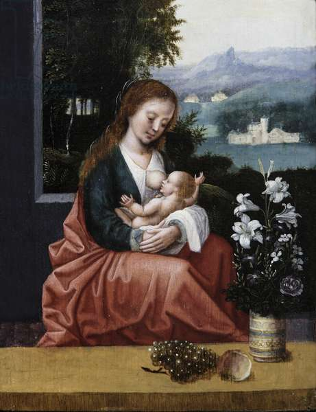 The Virgin and Child, 1518-50 (oil on panel)