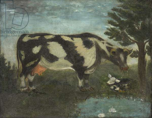 Daisy the Cow, c.1790 (oil on canvas)