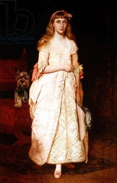 Rose: Portrait of Miss Rose Fenwick, 1877