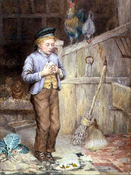 Broken Eggs, 1881