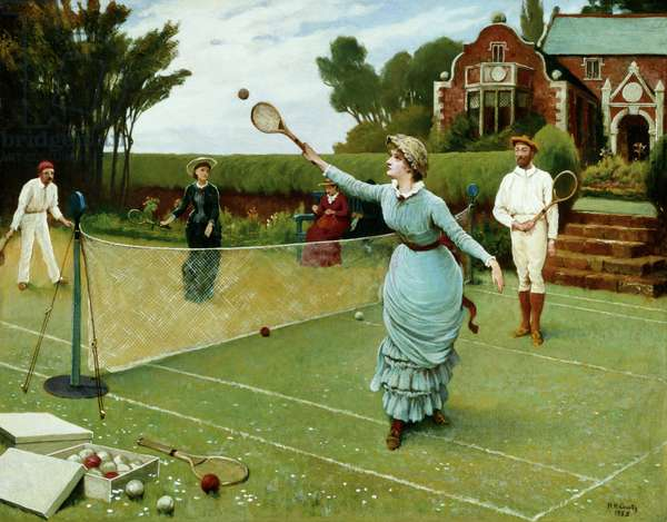 Tennis Players, 1885