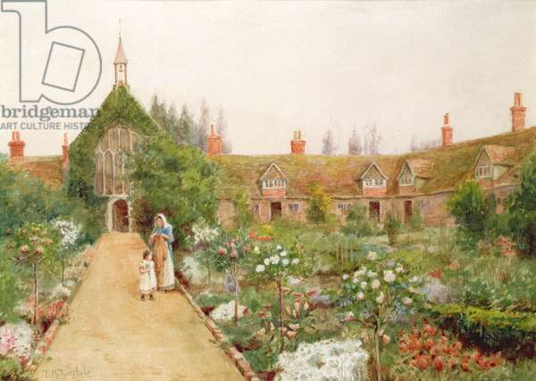 A Country Garden at Bray, Berkshire