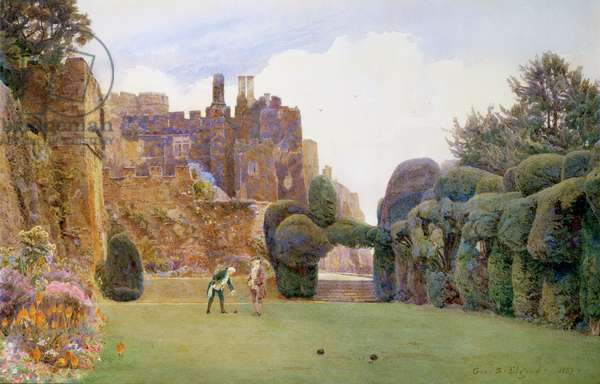 The Bowling Green, Berkeley Castle, Gloucestershire