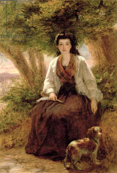Sterne's Maria, from A Sentimental Journey