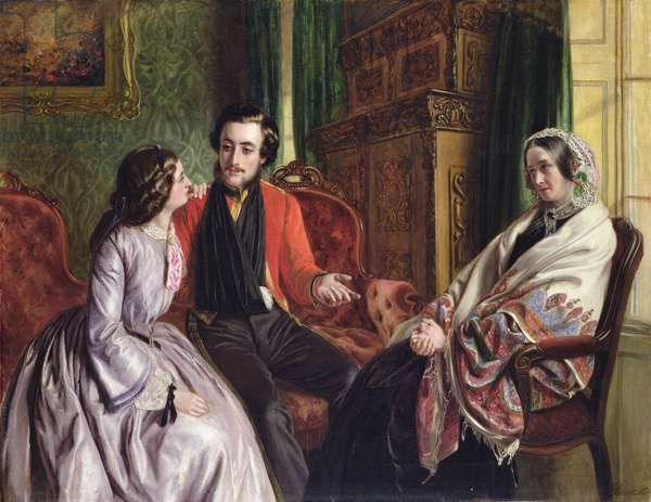 The Story of Balaclava: 'Wherein he Spoke of the Most Disastrous Chances', 1855 (oil on canvas)