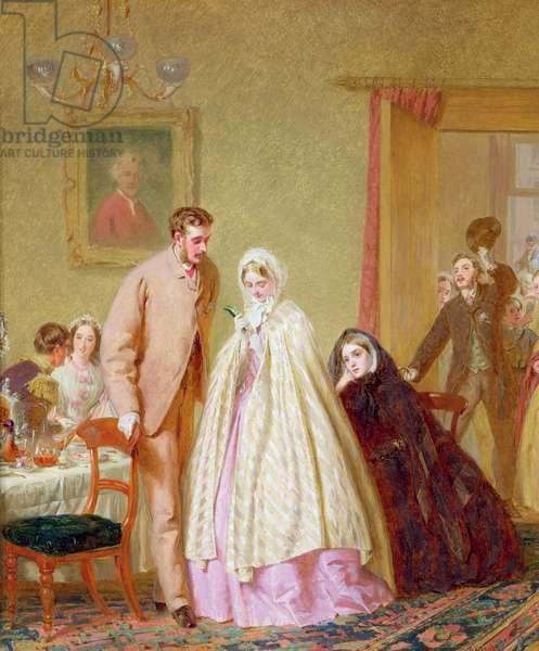 The Wedding Breakfast, 1862 (oil on panel)
