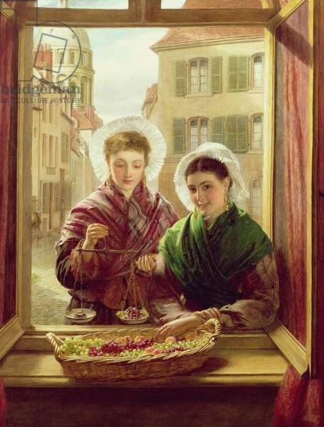 At my window, Boulogne, 1872