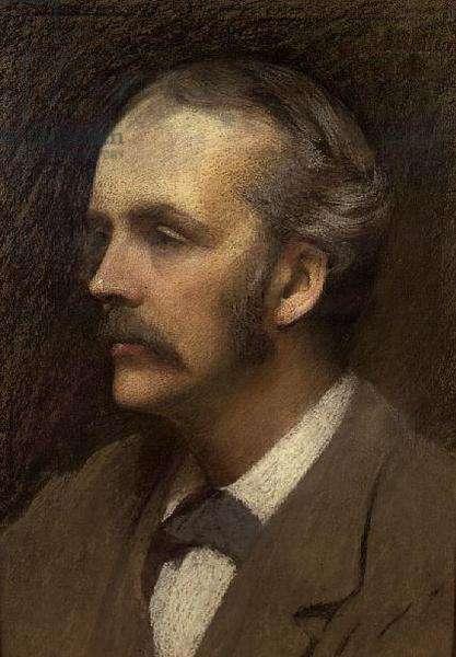 Portrait of the Rt.Hon. Arthur Balfour, 1892