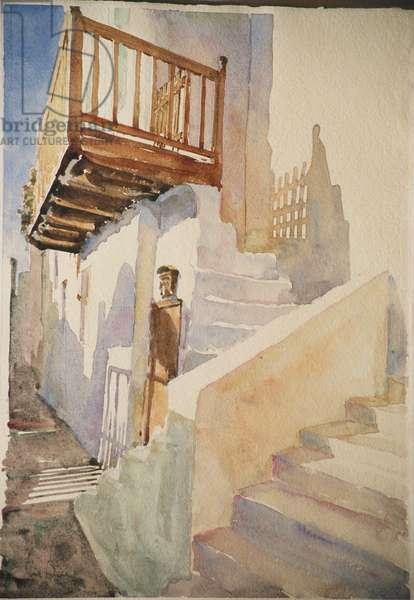 White shadows - Hora Naxos, 2004 (w/c)