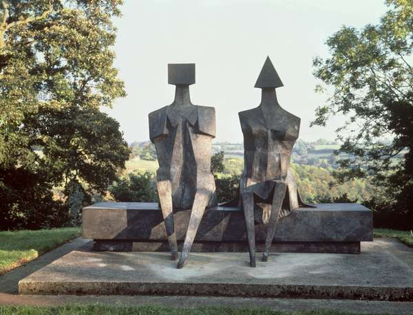 Back to Venice, 1988 (bronze) (see also 405485)