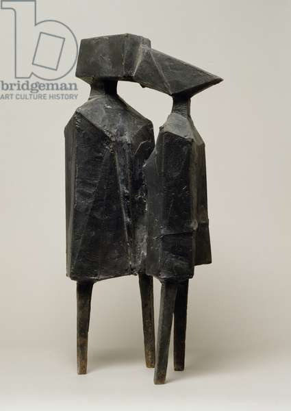 Conjunction XII, 1970 (bronze)