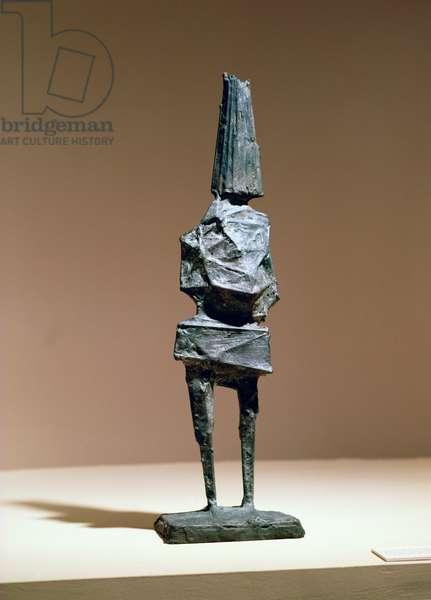 Paper Hat, 1966 (bronze)