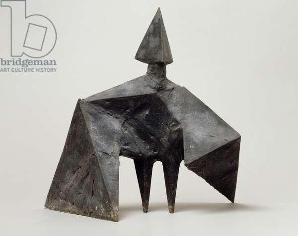 Working model for Maquette III Stranger, 1969 (bronze)