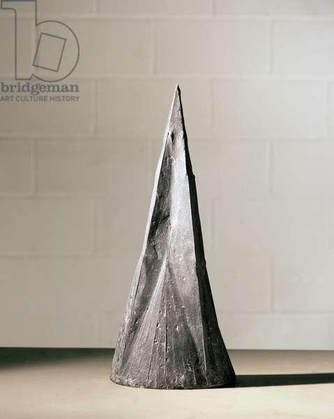 Pyramid I, 1965 (bronze)