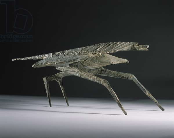 Beast X, 1956 (iron & composition)