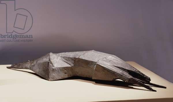 Lying Beast, 1960 (bronze)