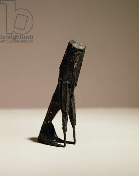 Maquette for Sitting Beast, 1961 (bronze)