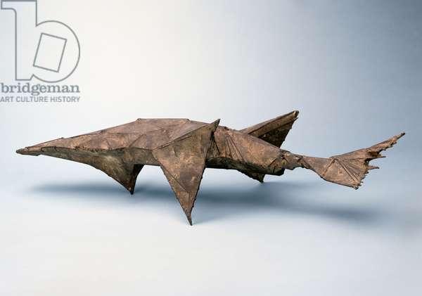 Fish II, 1958 (iron & composition)