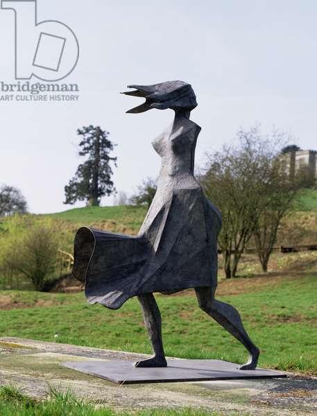 High Wind IV, 1995 (bronze)