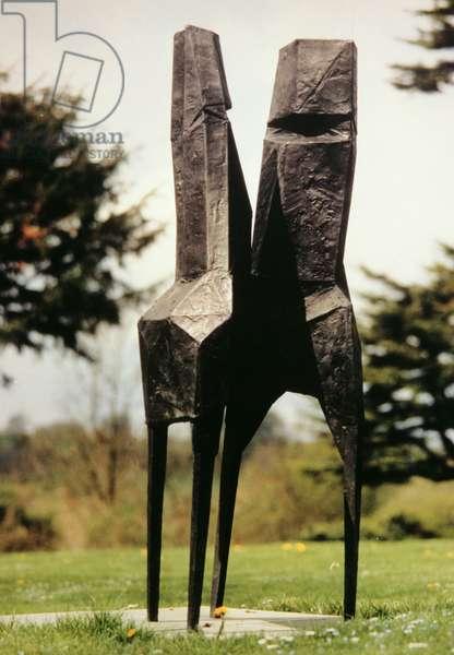 Dancers, 1967 (bronze)