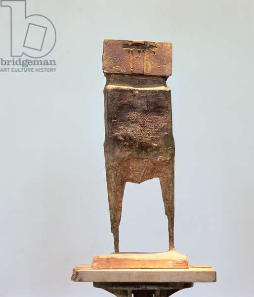 Aga Cant - Old Watcher, 1959 (bronze)