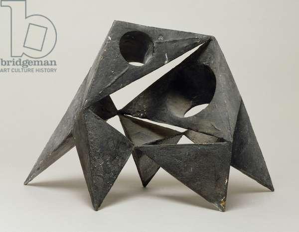 Pyramids VIII, 1965 (bronze)