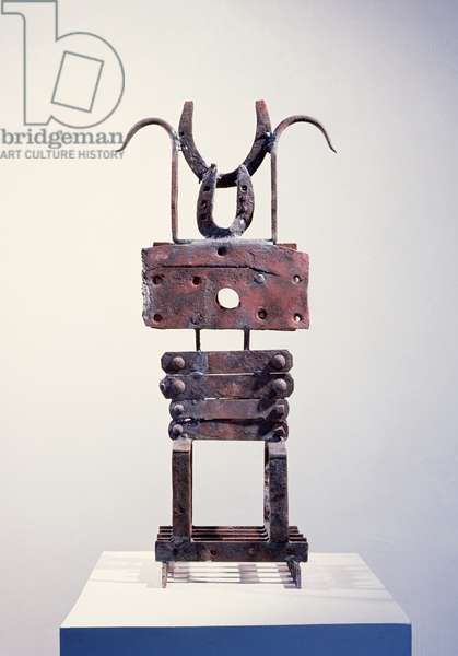 Insider IV, 1963 (welded iron)