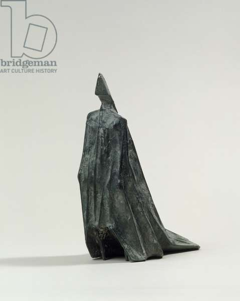 Cloaked Figure VI, 1977 (bronze)