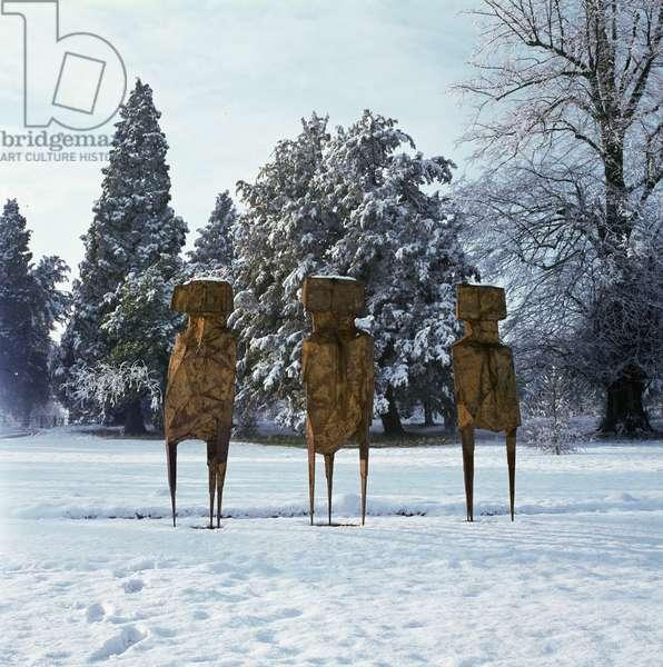 The Watchers, 1960 (bronze)