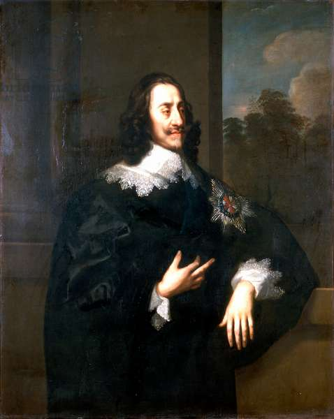 King Charles I, c.1660-70 (oil on canvas)