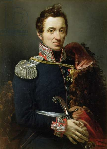 Prince Constantine Czartoryski (1773-1860) 1821 (oil on canvas)