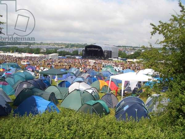Glastonbury Festival - view