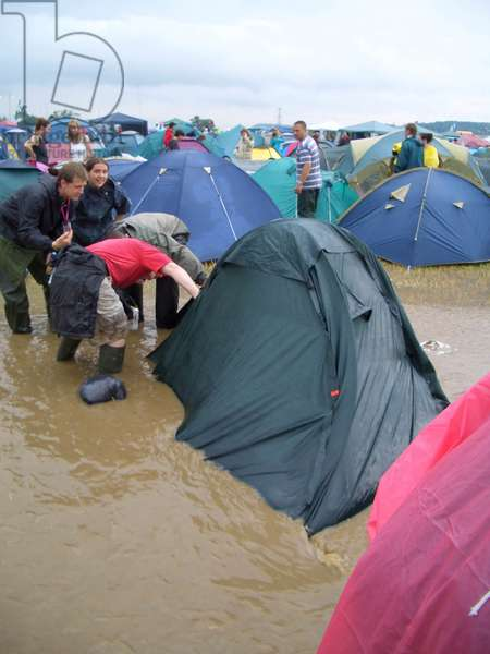 Glastonbury Festival - tents