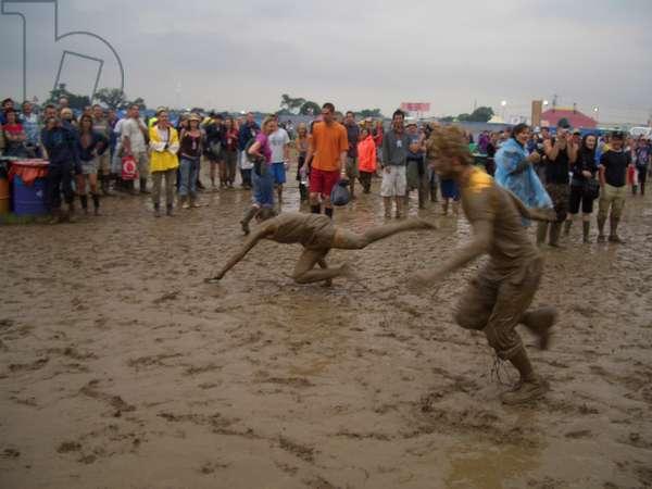 Glastonbury Festival - two