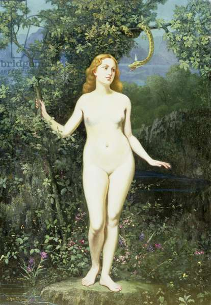 The Temptation of Eve, 1944 (oil on canvas)