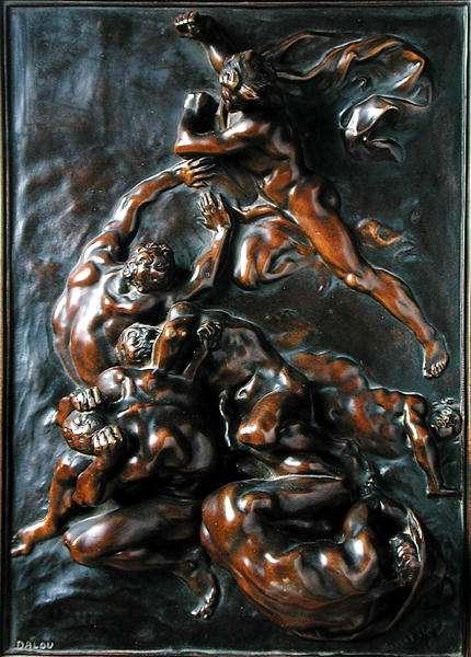 Les Chatiments (bronze patina)